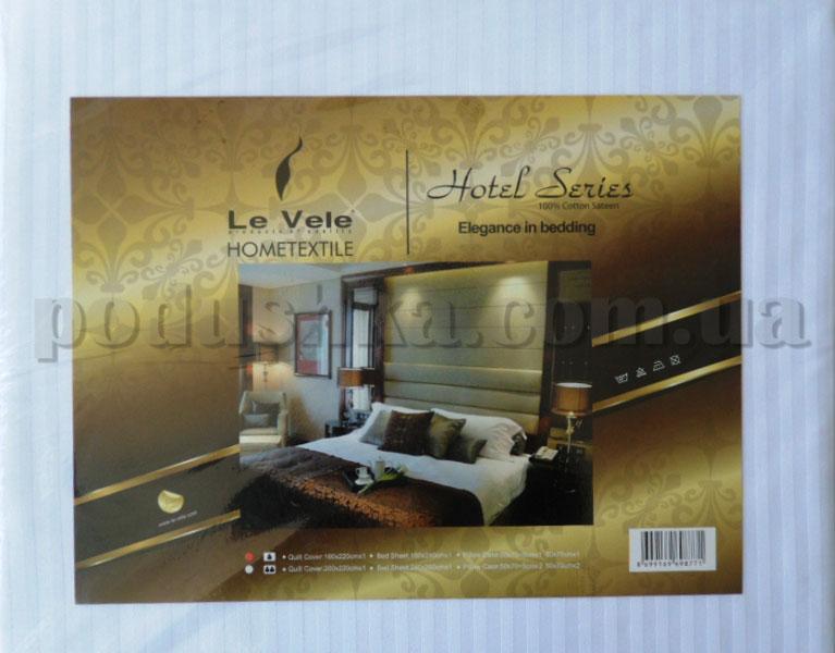 Постельное белье Le Vele серия Отель Двуспальный евро комплект  Le Vele