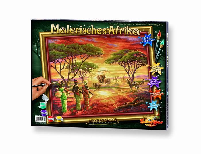 Художественный творческий набор Африка