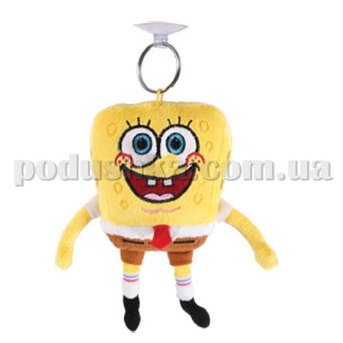 Мягкая игрушка на присоске - ГУБКА БОБ (лиц. Viacom, 10 см)