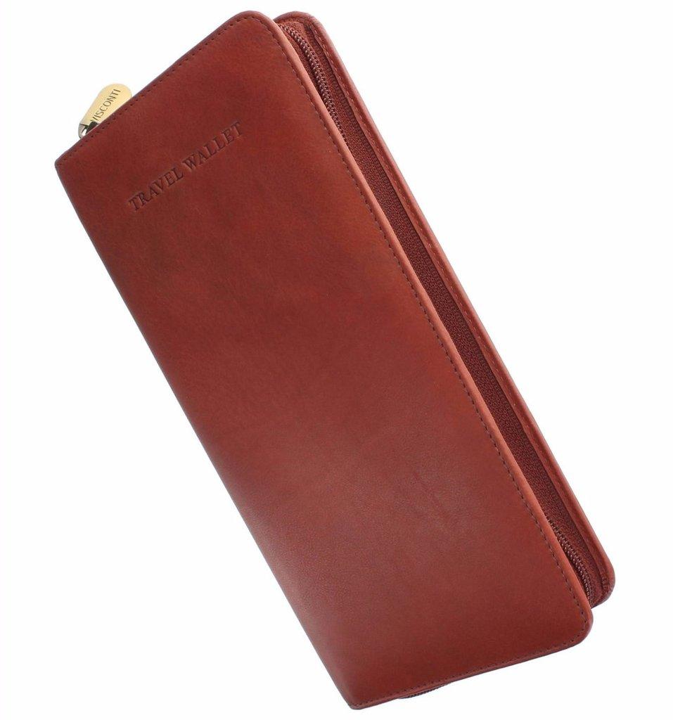 59499ecf35e8 Кошелек для путешествий Visconti 1157 Polo brown купить в Киеве ...
