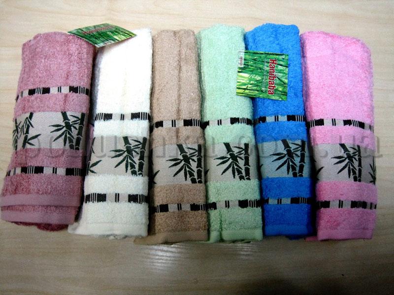 Набор махровых полотенец для ног Hanibaba 6 шт