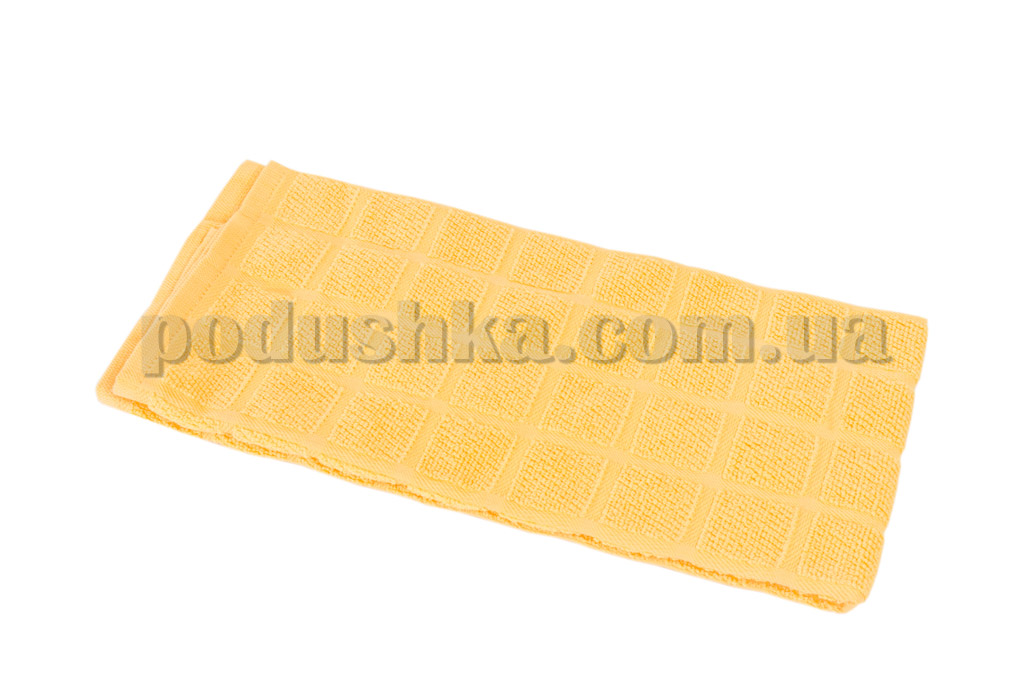 Полотенце кухонное Maisonette Kitchen Style-130 Квадраты желтое