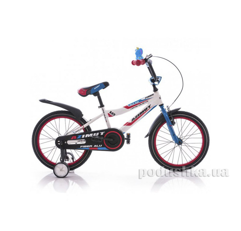 Велосипед Azimut Fiber 18 Бело-голубой   Azimut