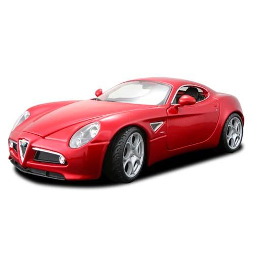 Авто-конструктор - Alfa 8C Competizione (2007) (красный, 1:18)