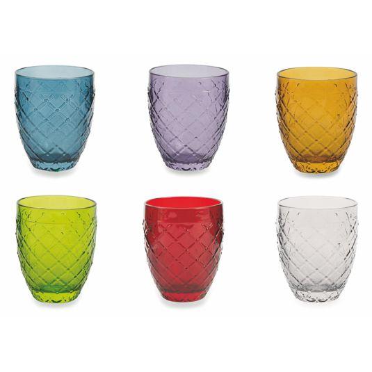 Набор стаканов для воды Villa d'Este 350 мл, 6 шт 2416395