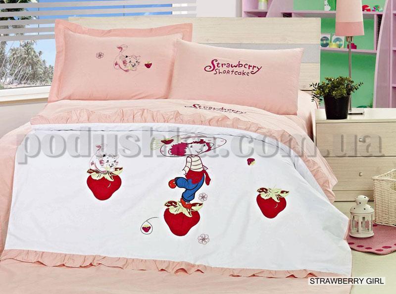 Постельное белье Arya Strawberry girls