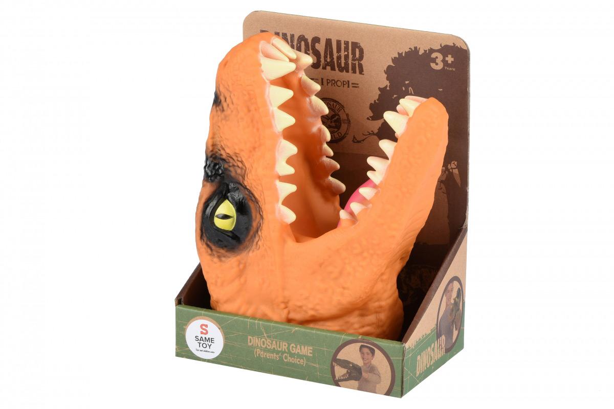 Игрушка-перчатка Same Toy Dino Animal Gloves Toys оранжевый AK68622-1Ut3