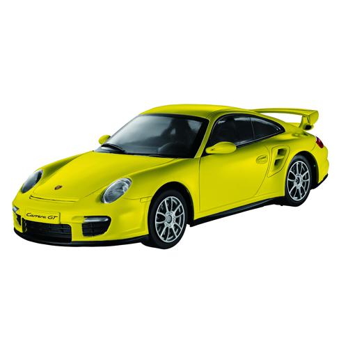 Автомобиль радиоуправляемый - Porsche 911 GT2 (желтый, 1:16)