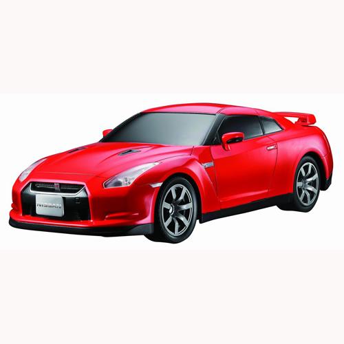 Автомобиль радиоуправляемый - 2008 NISSAN GT-R (красный, 1:16)