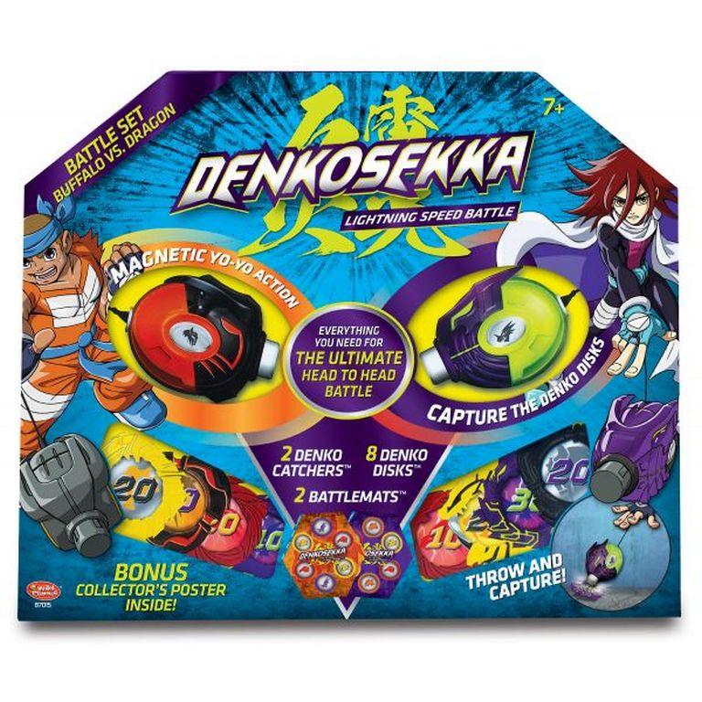 Набор для битвы Denko Sekka 87015-DS Дракон против Быка