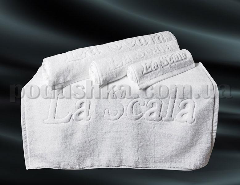 Полотенце для ног белое La Scala CH 50х80 см  La Scala