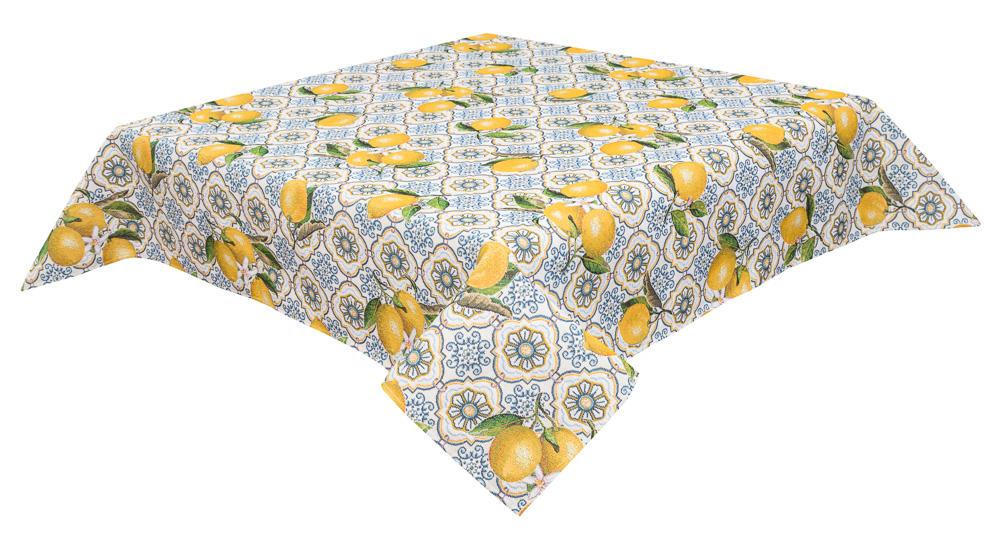 Скатерть гобеленовая LiMaSo с лимонами
