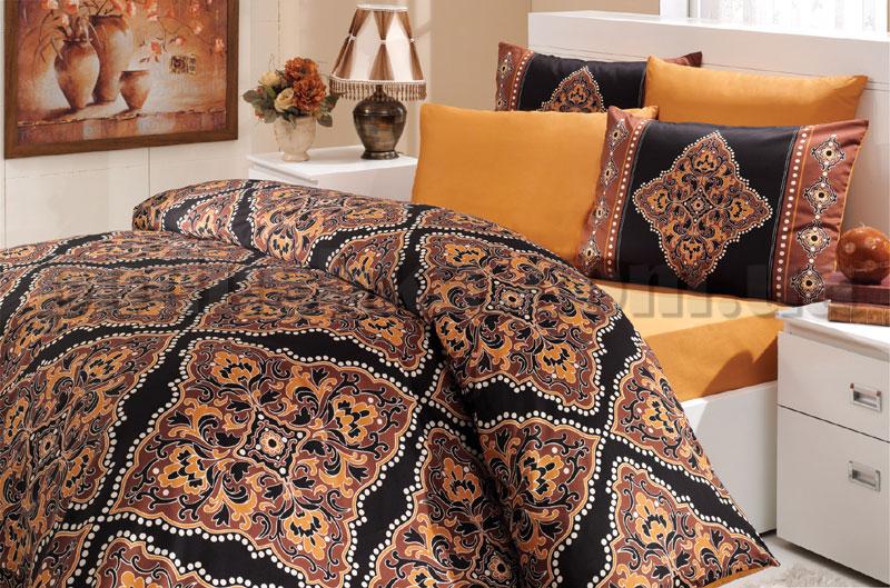 Постельное белье Hobby Nirvana коричневый