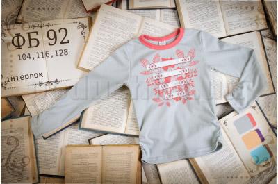 Детская футболка с рисунком Бемби ФБ92 интерлок