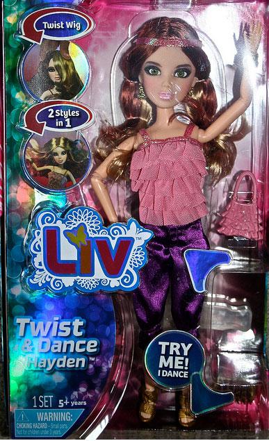 Кукла Hayden Танцующие Liv