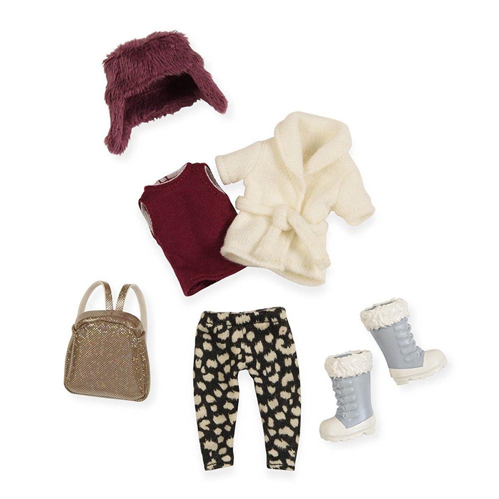 Набор одежды для кукол Lori Теплый жакет с шапкой LO30006Z