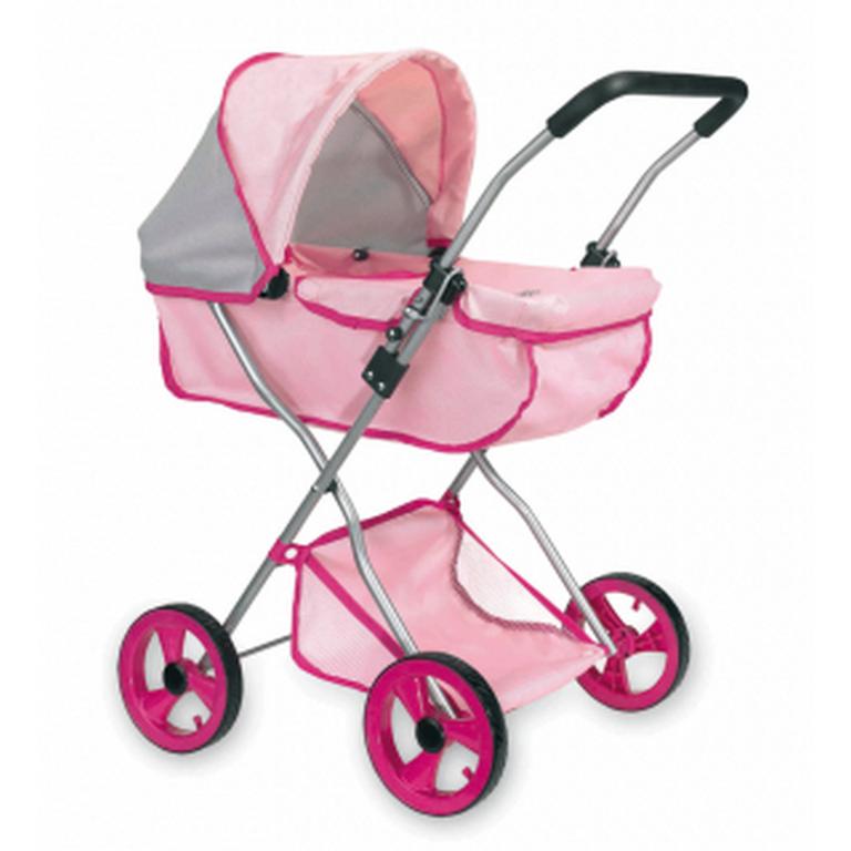 Коляска зимняя Loko Toys Byboo Pink 97050 40х48х68 см