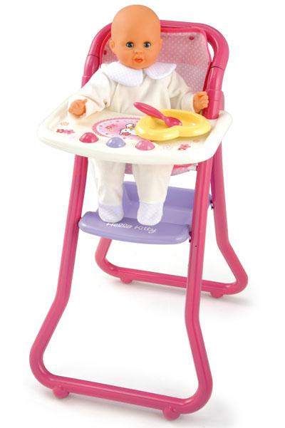 Игрушечный стульчик для кормления Hello Kitty с аксессуарами