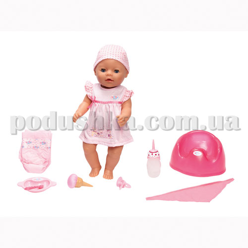 Кукла BABY BORN - ВОЛШЕБНОЕ КОРМЛЕНИЕ, девочка  (43 см, с аксессуарами)