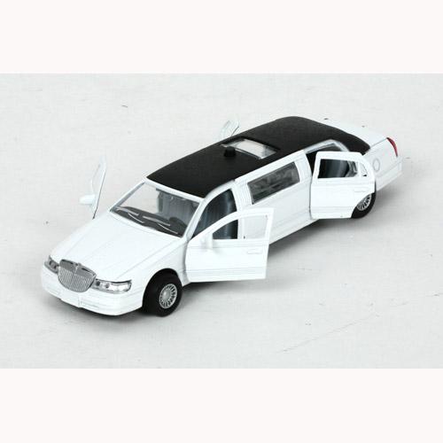 Автомодель - ЛИМУЗИН (белый, свет, звук)   Технопарк