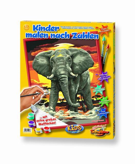 Художественный творческий набор Слон