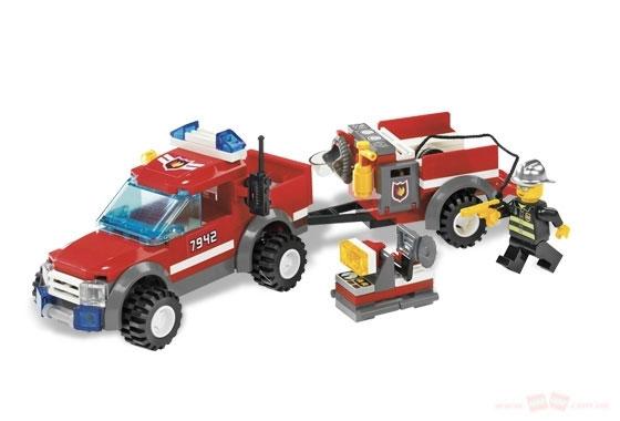Пожарный внедорожник