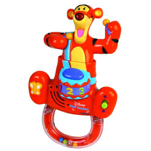 Игрушка развивающая - Веселый Тигруля (музыкальная)