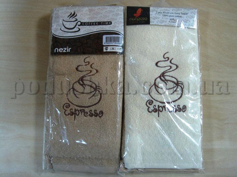 Набор кухонных полотенец Mariposa Кофе-тайм Кофе New 005