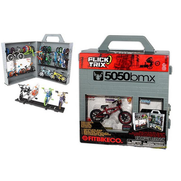 Копии настоящих велосипедов BMX Flick Trix 12037-6014457-FT с чемоданчиком-дисплеем