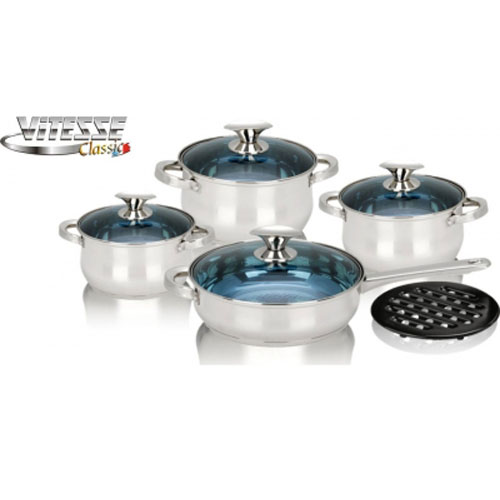 Набор посуды Vitesse VS-7013 9 предметов