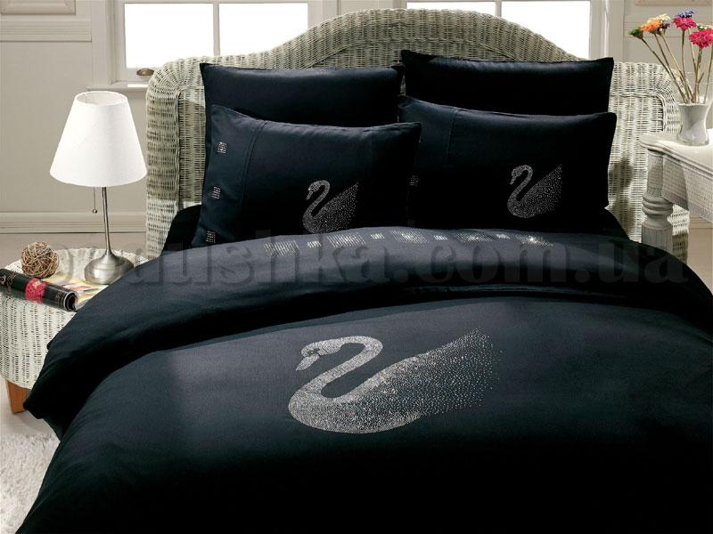 Постельное белье Hobby Crystal Kugu черный