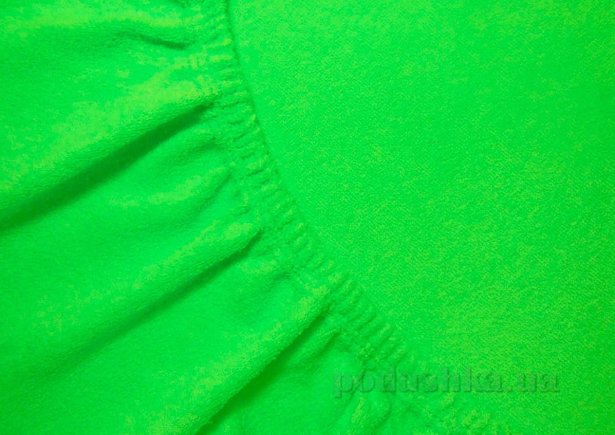 Простынь махровая Arya TR1002125 зеленый 200х220 см  ARYA