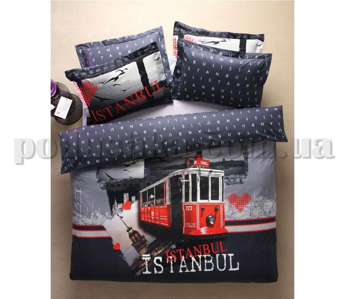 Постельное белье Karaca City Istanbul трамвай