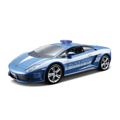 Автомодель - Lamborghini Gallardo LP560 Polizia, (голубой, 1:32)