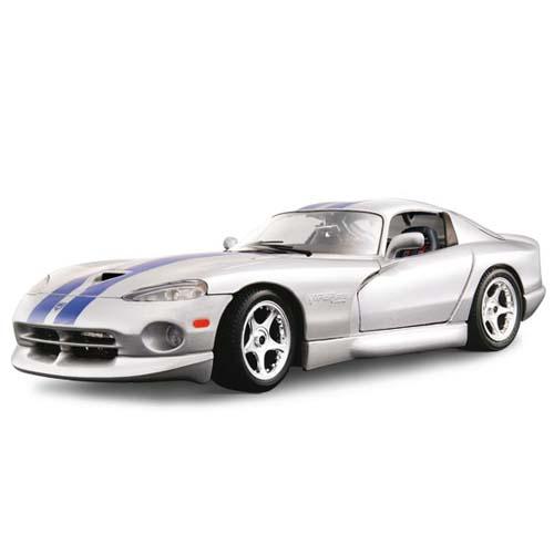 Автомодель - Dodge Viper GTS Coupe (серебристый, 1:18)