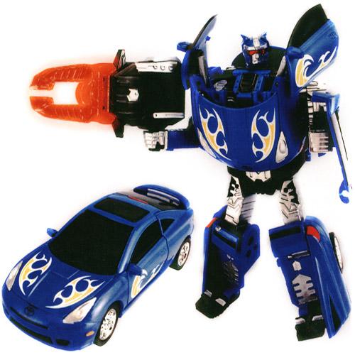 Робот-трансформер - TOYOTA CELICA (1:32)   Roadbot