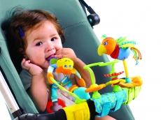 Развивающие игрушки для прогулочной коляски Тропичный остров