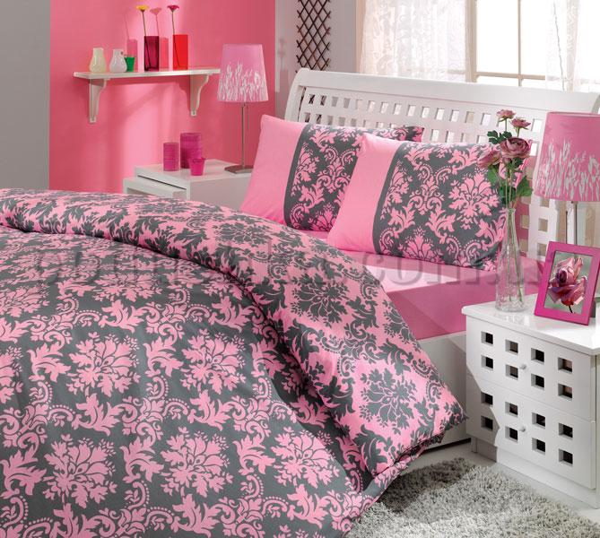 Постельное белье Hobby Avangarde розовый сатин