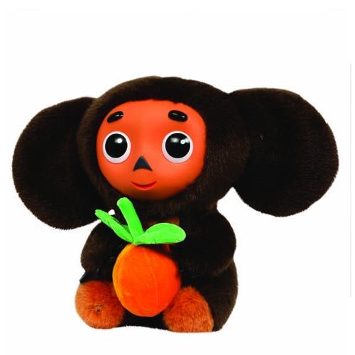Мягкая игрушка - Чебурашка с апельсином