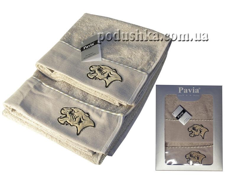 Набор махровых полотенец PUMA BIEGE