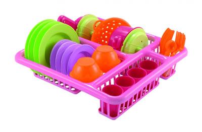 Набор сушка и детская посудка