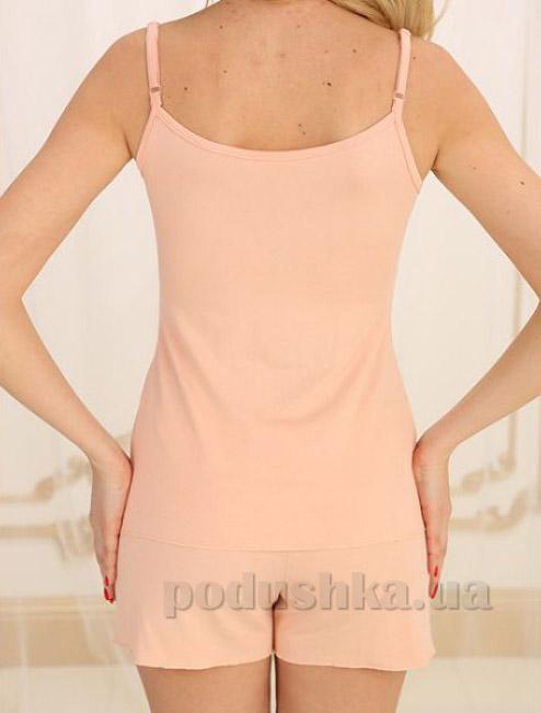 Пижама Violet delux П-М-26 пудра S  Violet delux