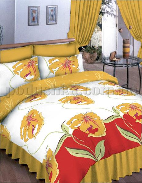 Постельное белье Вилюта 7323 желтый