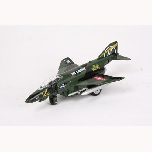 Модель - Самолет Военный (свет, звук)