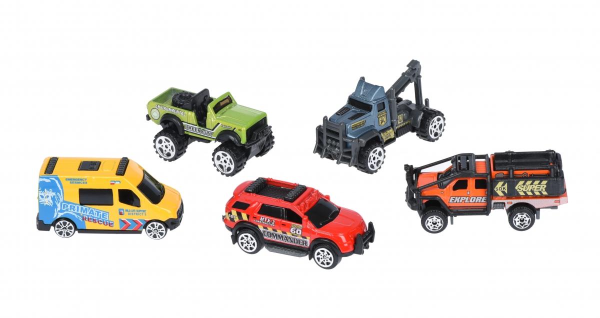 Набор машинок Same Toy Metal Путешественники SQ80865-6Ut