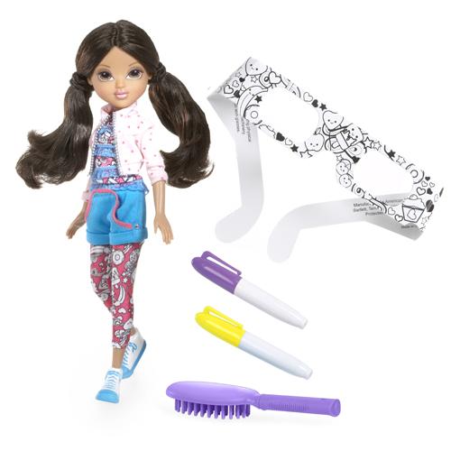 Кукла Moxie серии «3D-дизайн» - Модница Софина (с маркерами и 3D-очками)