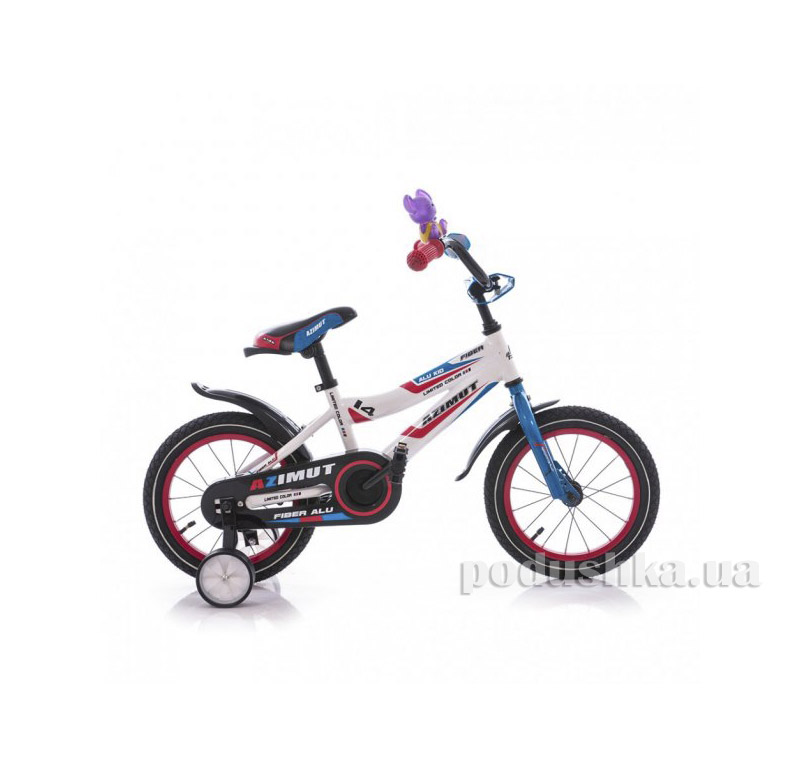 Велосипед Azimut Fiber 12 Бело-голубой   Azimut