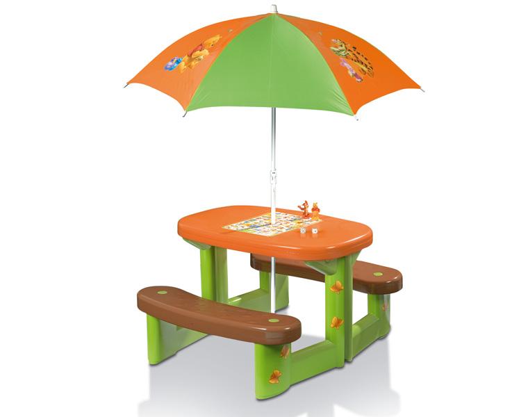 Стол с зонтиком для пикника Winnie the Pooh Maxi