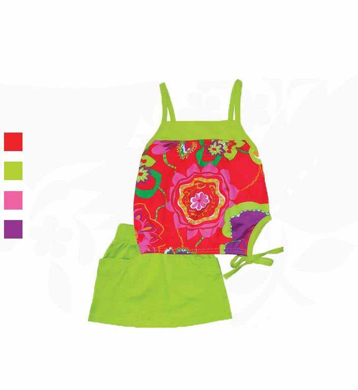 Комплект для девочек Фламинго 776