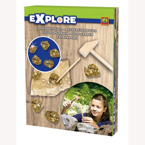 Набор серии Исследователь - В поисках сокровищ Золотой Орды (инструменты, слитки)